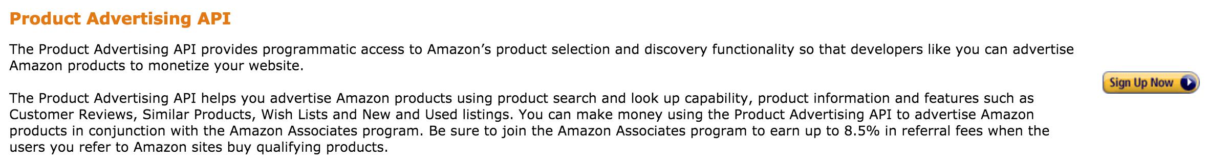 AAWP - Amazon Affiliate WordPress Plugin - Docs - Signup Amazon API