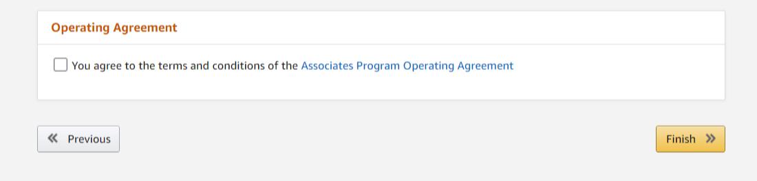 Amazon Associates Affiliate Marketing Program Register