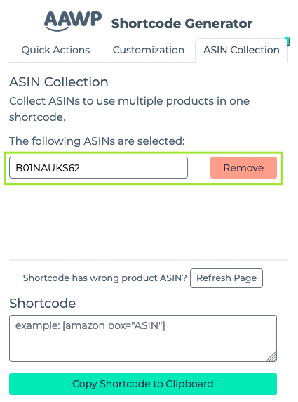 ASIN Collection: Product