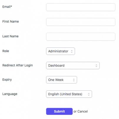 screenshot of wordpress plugin-temporary login without password